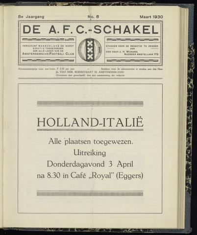 Schakels (clubbladen) 1930-03-01