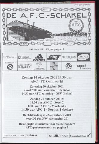 Schakels (clubbladen) 2001-10-09