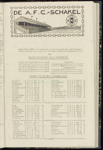 Schakels (clubbladen) 1939-11-09