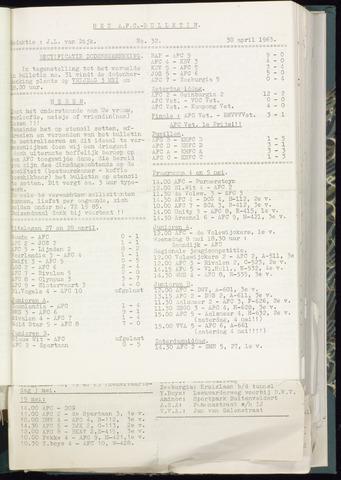 Bulletins (vnl. opstellingen) 1963-04-24