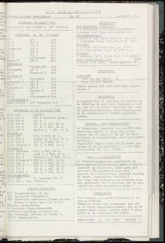 Bulletins (vnl. opstellingen) 1961-03-14
