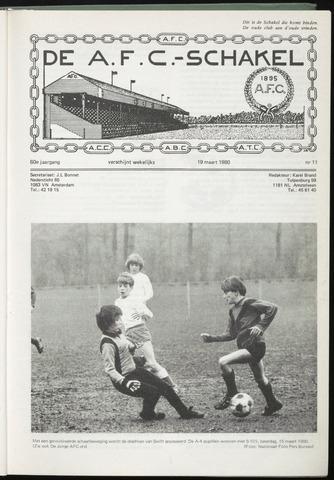 Schakels (clubbladen) 1980-03-19