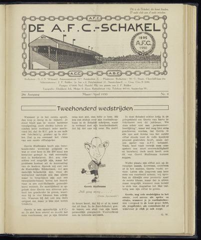 Schakels (clubbladen) 1950-03-01