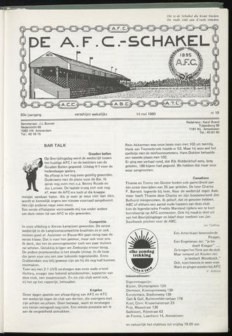 Schakels (clubbladen) 1980-05-14