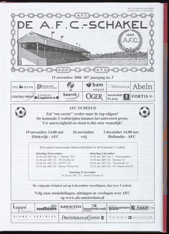 Schakels (clubbladen) 2006-11-15