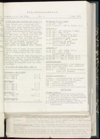 Bulletins (vnl. opstellingen) 1963-05-29