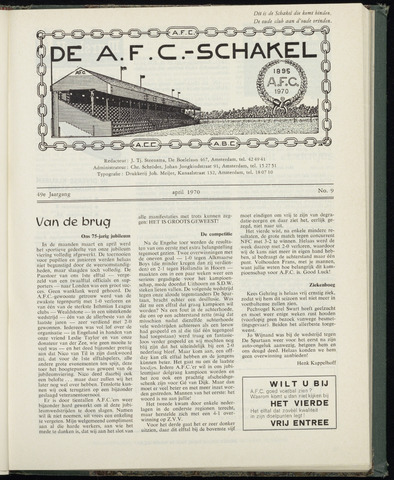 Schakels (clubbladen) 1970-04-01