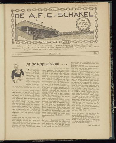 Schakels (clubbladen) 1952-12-01