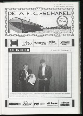 Schakels (clubbladen) 1988-01-27