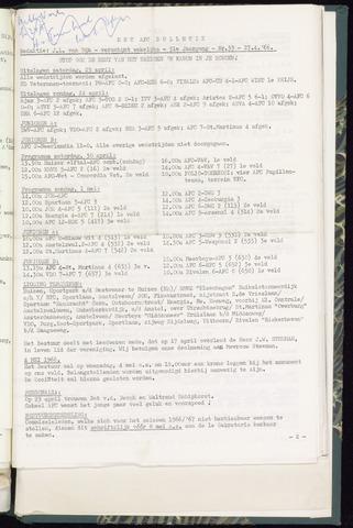 Bulletins (vnl. opstellingen) 1966-04-27
