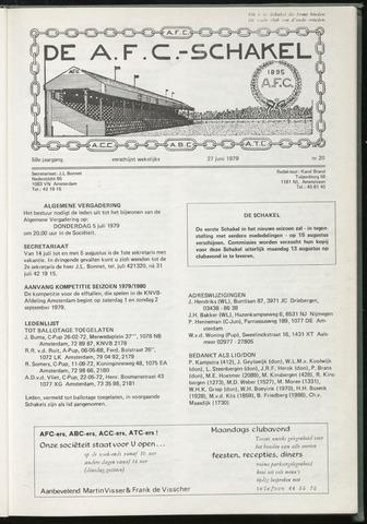 Schakels (clubbladen) 1979-06-27