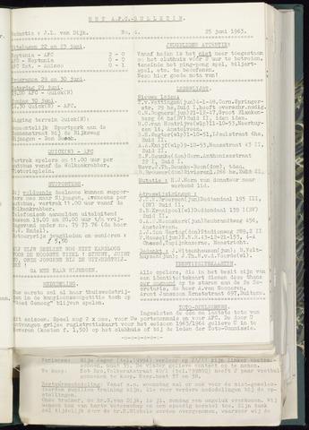 Bulletins (vnl. opstellingen) 1963-06-19