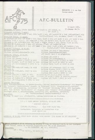 Bulletins (vnl. opstellingen) 1968-03-13