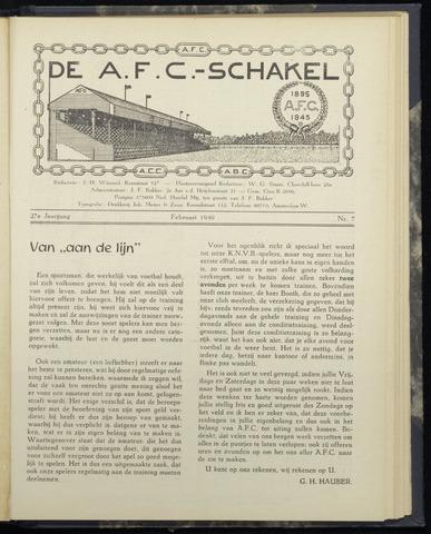 Schakels (clubbladen) 1949-02-01
