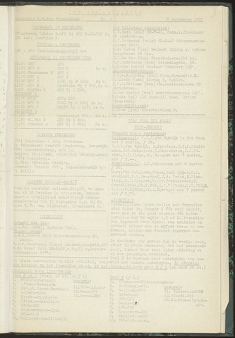 Bulletins (vnl. opstellingen) 1955-09-06