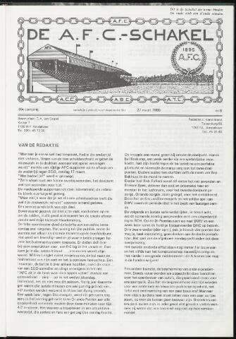 Schakels (clubbladen) 1985-03-27
