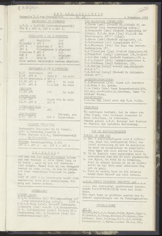 Bulletins (vnl. opstellingen) 1952-11-04