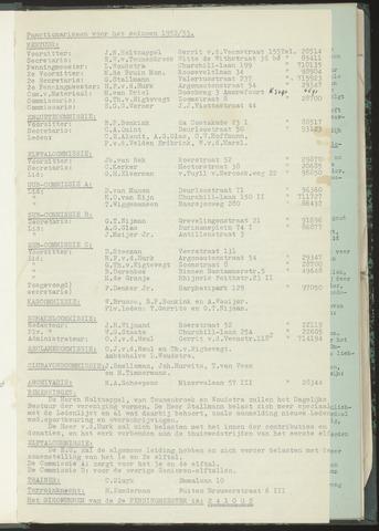 Bulletins (vnl. opstellingen) 1952