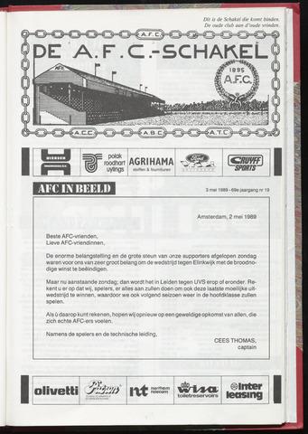 Schakels (clubbladen) 1989-05-03