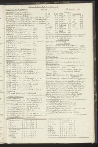 Bulletins (vnl. opstellingen) 1949-10-26
