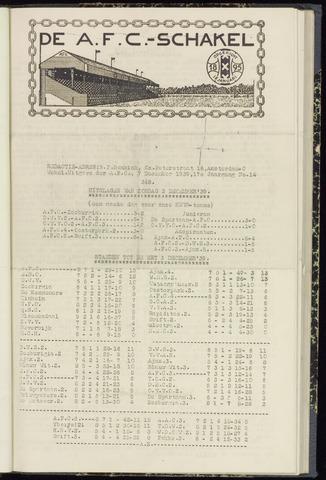Schakels (clubbladen) 1939-12-07