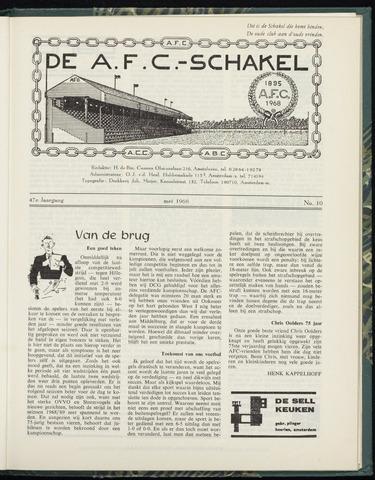 Schakels (clubbladen) 1968-05-01