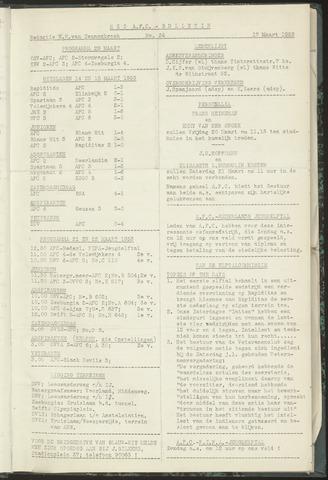 Bulletins (vnl. opstellingen) 1953-03-17