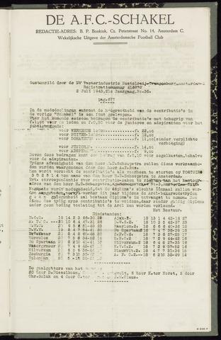 Schakels (clubbladen) 1943-07-02