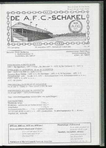 Schakels (clubbladen) 1977-08-24