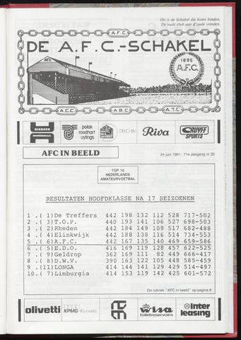 Schakels (clubbladen) 1991-06-24