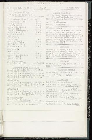 Bulletins (vnl. opstellingen) 1962-04-17