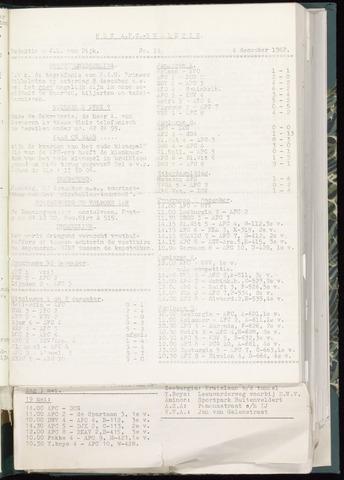 Bulletins (vnl. opstellingen) 1962-11-28
