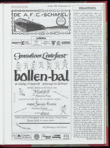 Schakels (clubbladen) 1998-03-18