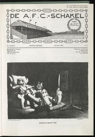 Schakels (clubbladen) 1981-03-18
