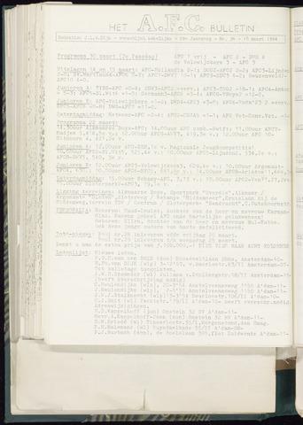 Bulletins (vnl. opstellingen) 1964-02-19