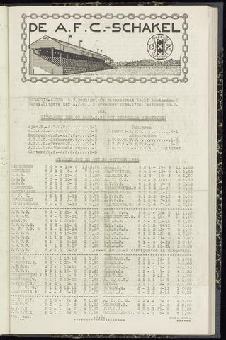 Schakels (clubbladen) 1938-11-03