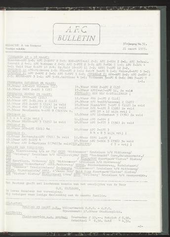 Bulletins (vnl. opstellingen) 1973-03-21