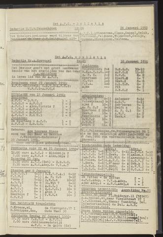 Bulletins (vnl. opstellingen) 1950-01-18