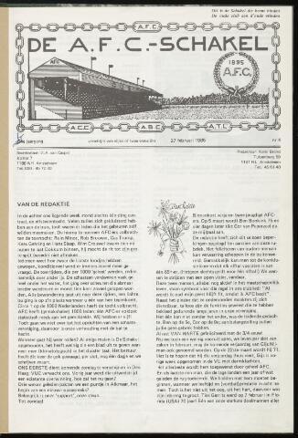 Schakels (clubbladen) 1985-02-27