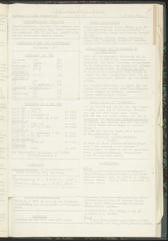 Bulletins (vnl. opstellingen) 1955-05-17