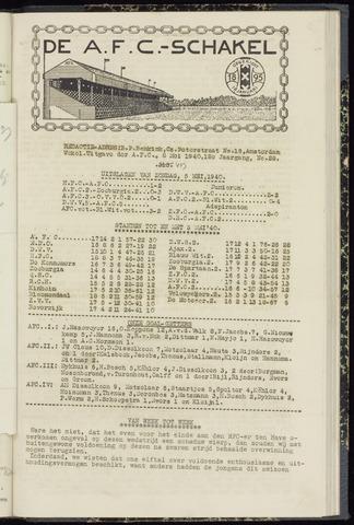 Schakels (clubbladen) 1940-05-08