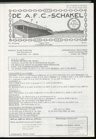 Schakels (clubbladen) 1976-04-07