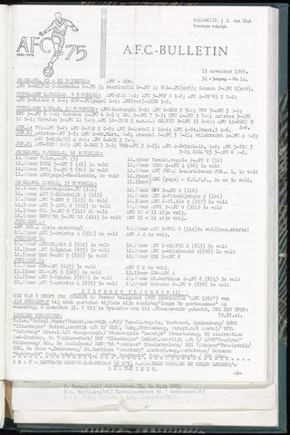 Bulletins (vnl. opstellingen) 1968-11-13