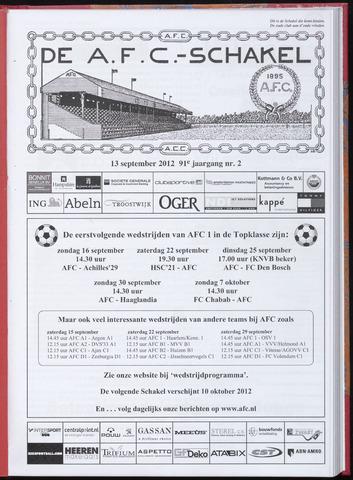 Schakels (clubbladen) 2012-09-13