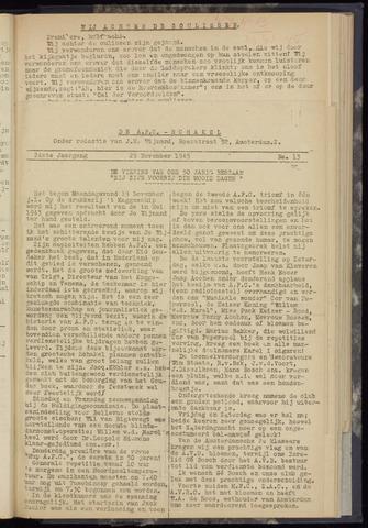 Schakels (clubbladen) 1945-11-29