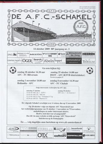 Schakels (clubbladen) 2009-10-14