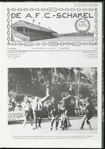 Schakels (clubbladen) 1982-06-09
