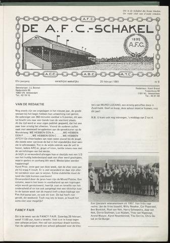 Schakels (clubbladen) 1981-02-25