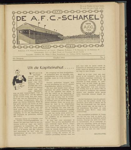 Schakels (clubbladen) 1953-10-01