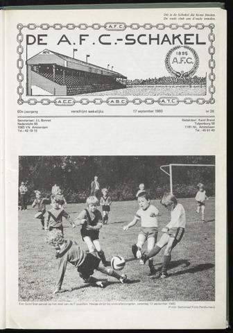Schakels (clubbladen) 1980-09-17